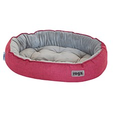 Rogz Cuddle Oval Pod Red Medium Dog Bed