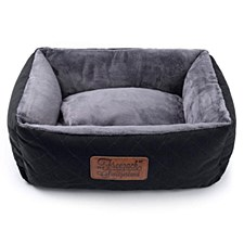 Rogz Knight Sofa Black & Grey Medium Dog Bed