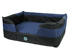 Bono Fido Stay Dry Blue Large Dog Bed