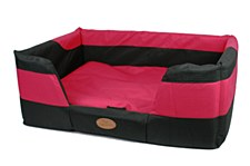 Bono Fido Stay Dry Red Small Dog Bed