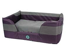 Bono Fido Stay Dry II Purple Large Dog Bed