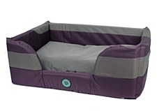 Bono Fido Stay Dry II Purple Medium Dog Bed