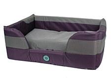 Bono Fido Stay Dry II Purple Small Dog Bed