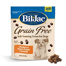 Bil-Jac Grain Free Chicken & Sweet Potato Soft Training Dog Treats 283g
