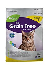 BIOpet Grain Free 3kg Dry Cat Food