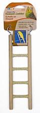 Penn Plax Cement Ladder 5 Step for Small Birds