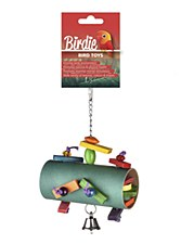 Birdie Forage Surprise Barrel Bird Toy
