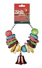 Birdie Rainbow Circles Bird Toy