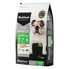 BlackHawk Adult Chicken & Rice 20kg Dry Dog Food