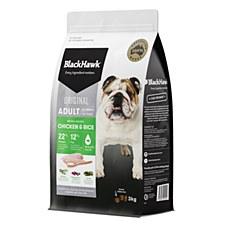BlackHawk Adult Chicken & Rice 3kg Dry Dog Food
