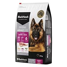 BlackHawk Adult Lamb & Rice 20kg Dry Dog Food