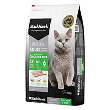 BlackHawk Chicken & Rice 15kg Dry Cat Food