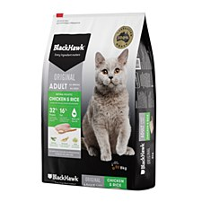 BlackHawk Chicken & Rice 8kg Dry Cat Food