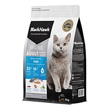 BlackHawk Fish 3kg Dry Cat Food