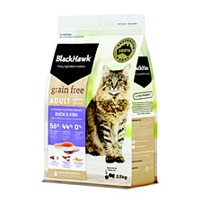 BlackHawk Adult Grain Free Duck & Fish 2.5kg Dry Cat Food
