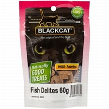 Blackdog Cat Fish Delites 60g Cat Treats