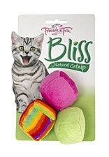 Trouble & Trix Bliss Soft Balls Cat Toy (3 Pack)
