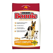 Bonnie Adult Complete with Real Chicken 20kg Dry Dog Food