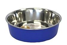 Pet Pacific Delisio Designer Stainless Steel Bowl Blue 25cm