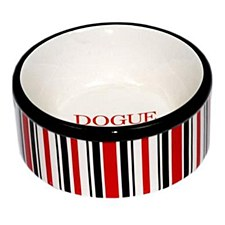 Dogue Pet Bowl Ceramic Candy Red Small