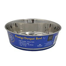 Zeez Prestige Durapet Stainless Steel 2.75L Dog Bowl