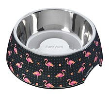 FuzzYard Fabmingo Small Pet Bowl