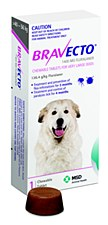 Bravecto Flea and Tick Chew for Extra Large Dogs 40-56kg