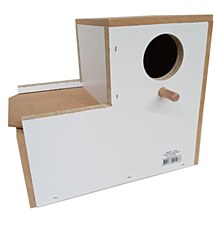 Jens Bird Nest Box LoveBird L Shaped