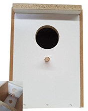 Jens Bird Nest Box Parrot Large