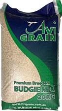 Avigrain Premium Breeders Budgie Mix 20kg Bird Food