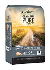 Canidae Dog Grain Free Pure Senior with Fresh Chicken 10.8kg Dry Dog Food