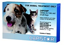 Capstar Blue for Dogs and Cats 0.5 - 11kg Flea Treatment (6 Pack)