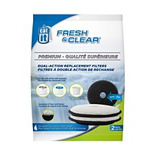 Catit Fresh and Clear Dual Action Replacement Filters (3 Pack)