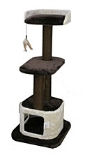 Montys 1 Hole 2 Platform 120cm Cat Scratch Post