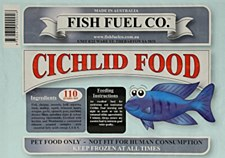 Fish Fuel Co. Cichlid Food 110g Frozen Fish Food