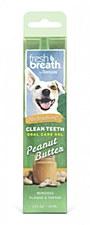 Tropiclean Fresh Breath Dog Oral Care Gel Peanut Butter 59ml