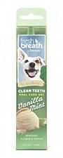 Tropiclean Fresh Breath Dog Oral Care Gel Vanilla Mint 59ml