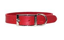 Dogue Dog Collar Plain 35cm Red