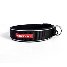EzyDog Dog Collar Classic Large Black