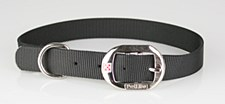 Petlife Dog Collar Nylon 60cm Black
