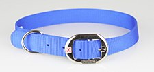 Petlife Dog Collar Nylon 67.5cm Blue