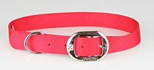 Petlife Dog Collar Nylon 67.5cm Red