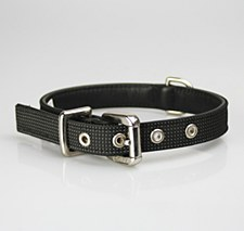Petlife Dog Collar Large 52.5cm Action Black