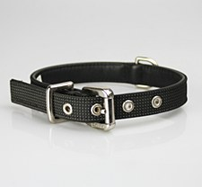 Petlife Dog Collar Small 37.5cm Action Black