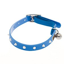 Gummi Cat Collar Spike Blue