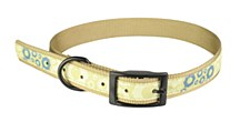 Dog Collar Grizzle Cogs Tan Extra Large