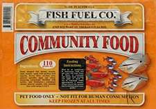 Fish Fuel Co. Community Food 110g Frozen Fish Food
