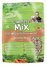 Vet's All Natural Complete Mix Sensitive Skin 1kg