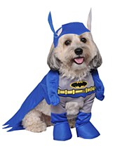 Pet Costume Batman Medium