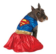 Pet Costume Supergirl Extra Large
